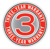 SWP 3 year warranty