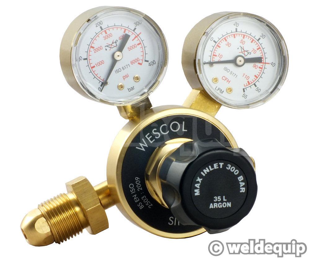 COMET EDGE Argon Preset Regulator 200kPa – Cigweld