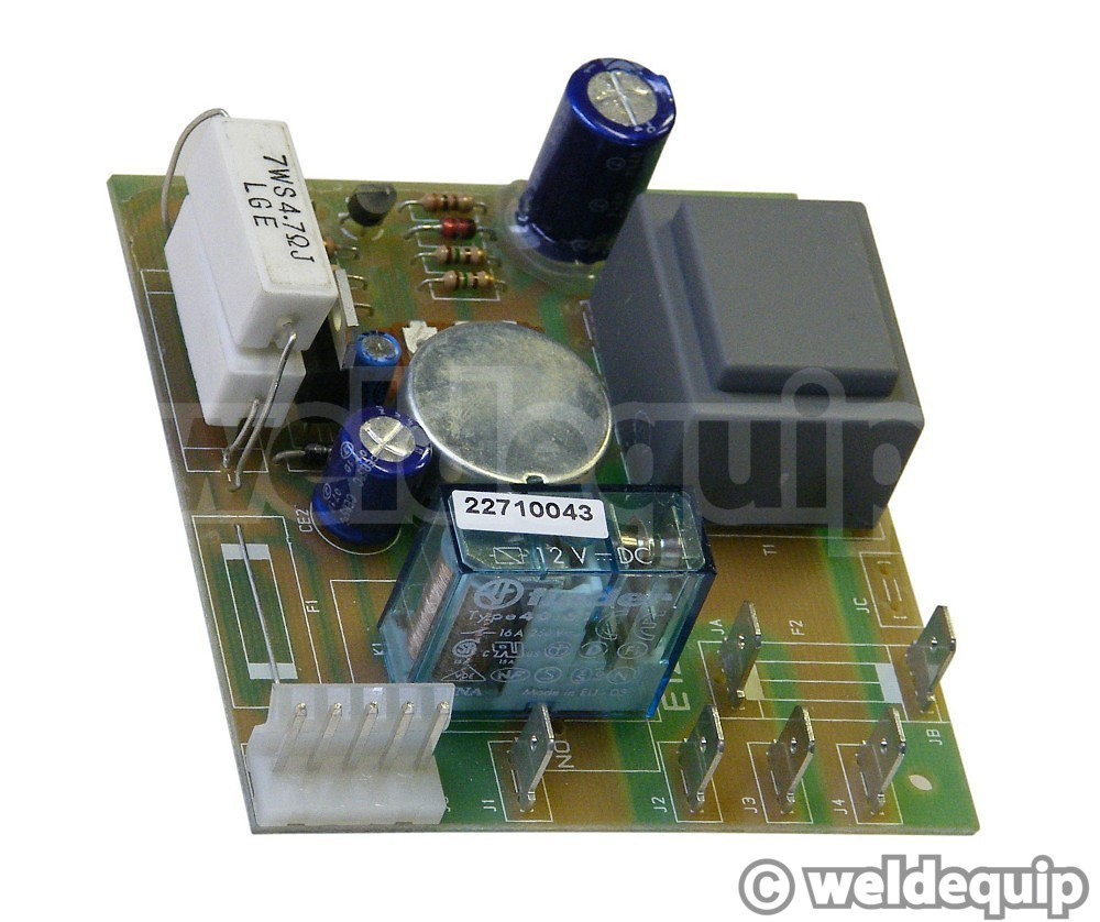 Clarke Mig Printed Circuit Board Pcb Weldequip Spot Welder Controller Without Components