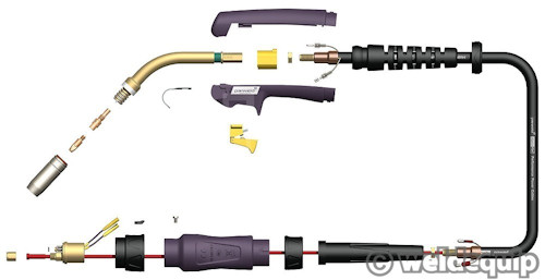 SB250 Euro Torch Schematic