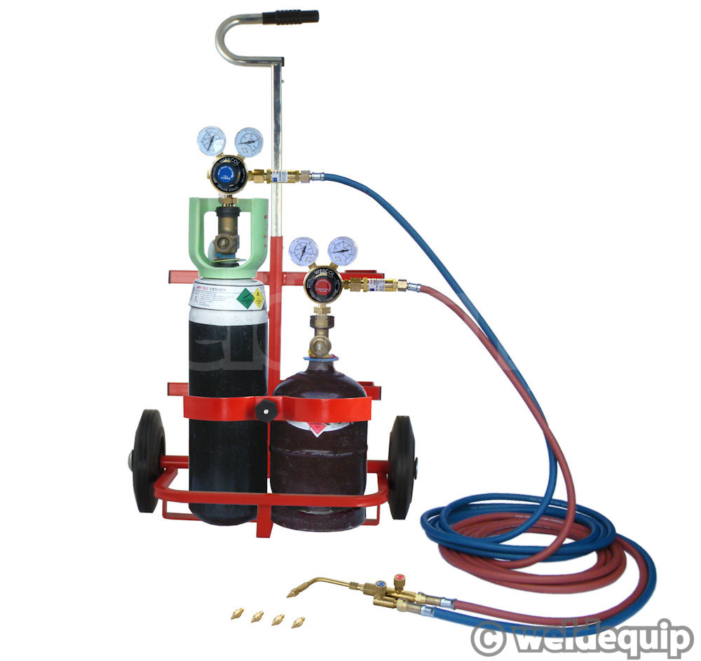 Lead Burning Kit Model O Portapack Pro - Weldequip