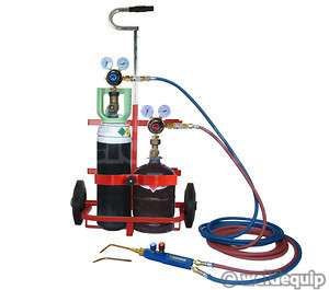 Portapack Gas Welding/ Brazing Equipment Set