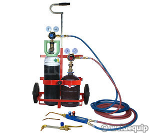 Portapack Gas Cutting & Welding Equipment Set