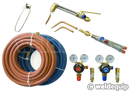 COntents of HD Gas welding set