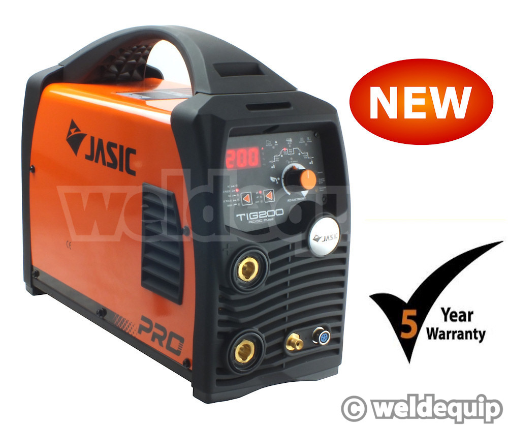 Jasic Pro Tig 200p Ac Dc Mini Digital Inverter Tig Welder