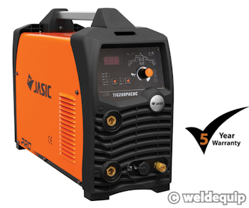 Jasic PRO TIG 200P AC/DC Digital Inverter TIG Welder
